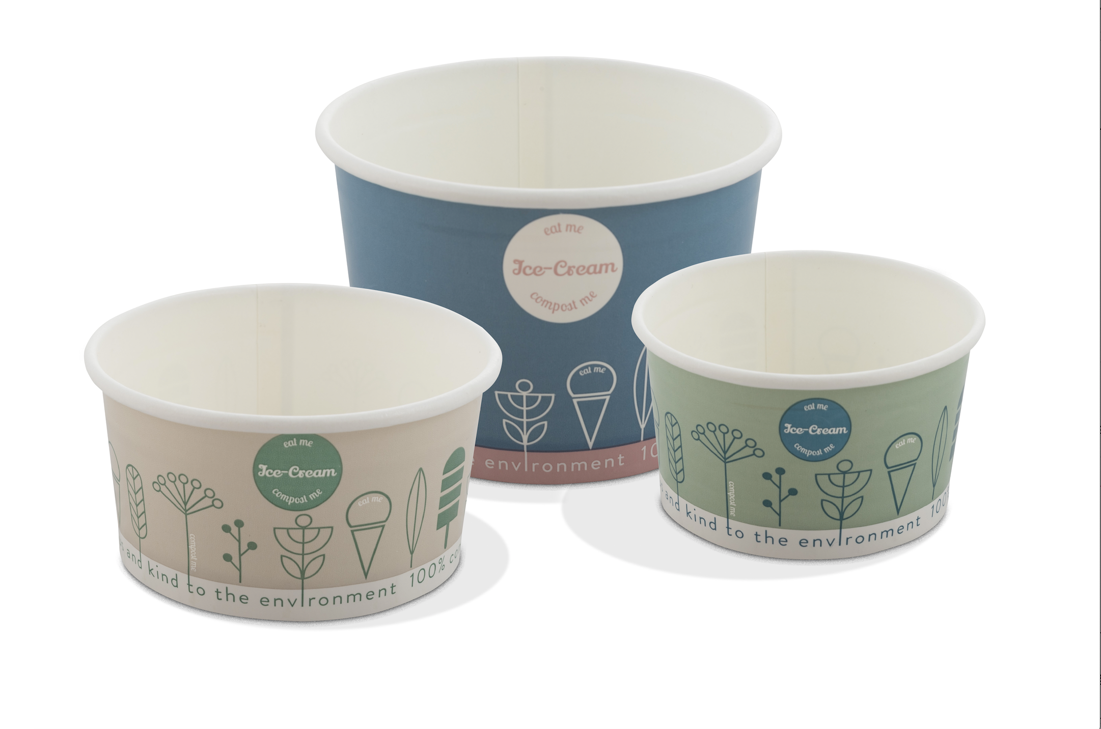 Compostable Ice Cream Packaging