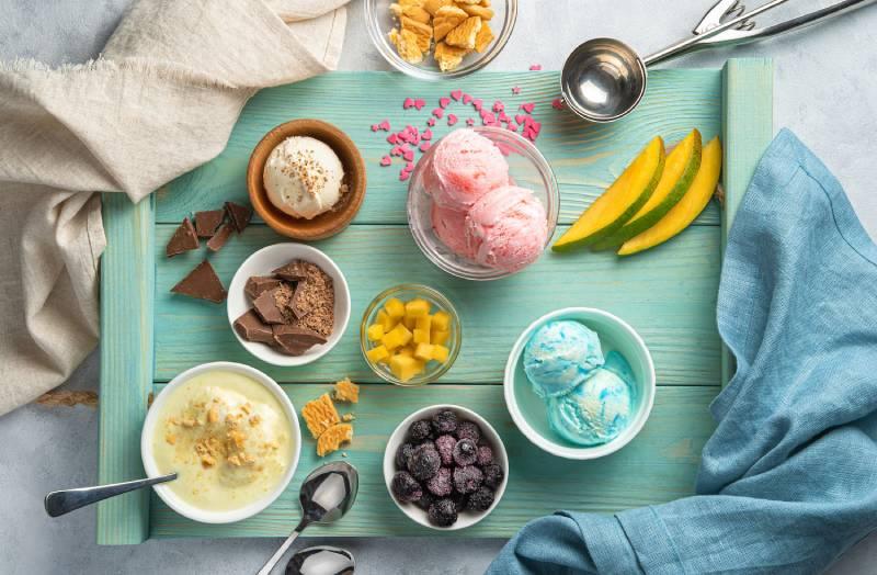 ice cream types