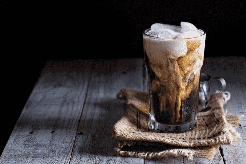 ice cream cocktail example