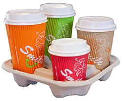 Ripple coffee cups
