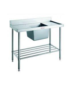 05 Sink Bench W/ Splashback Centre Bowl 1200 W 600 D 900 H (90kg)
