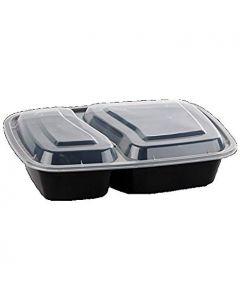 2 Compartment Container