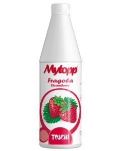 Strawberry topping sauce perfect for ice cream