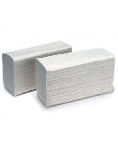 Rectangular V Fold White Napkins