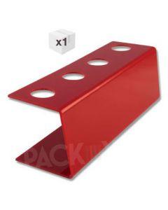 Red Plastic Ice Cream Cone Holder (4 holes)