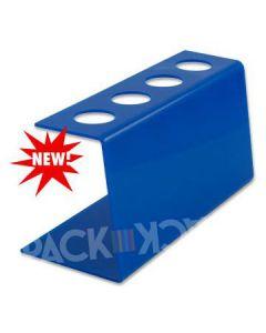 Tall Blue Plastic-Ice Cream Cone Holder (4Holes)