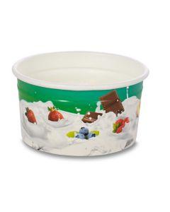 160ml TAS-ty Wax paper Ice cream Tub