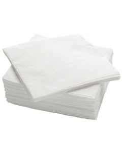 Extra large white napkins