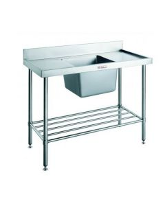 05 Sink Bench W/ Splashback Centre Bowl 1200 W 600 D 900 H (90kg)