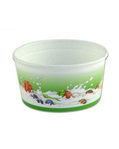 2 Scoop Wax Paper Ice Cream Tub
