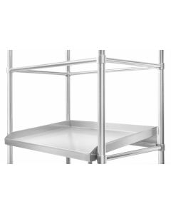 17 Adjustable Defrost Shelving 1200 W x 600 D x 1800 H mm