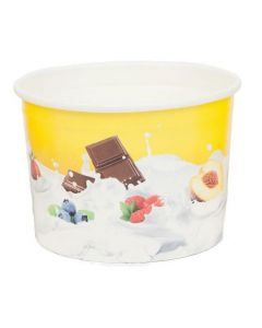 280ml TAS-ty Wax paper Ice cream Tub
