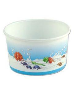 90ml Wax paper Generic Ice Cream Tubs (80/8b)