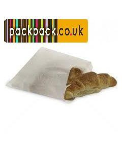 White Sulphite Bags (8.5 x 8.5) pk 100