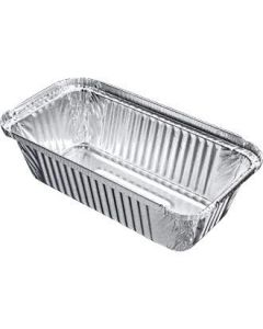 Long Aluminium Takeaway Container