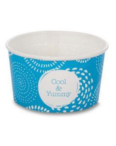 Huhtamaki 1 Scoop Wax Paper Ice Cream Tubs