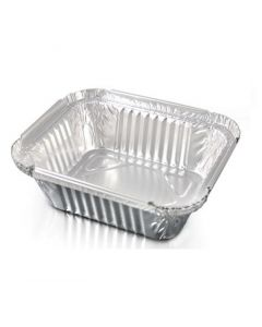 Aluminium containers for take away food