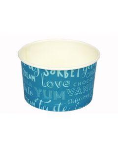 Generic Wax Paper Tub Blue