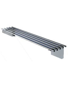 11 Pipe Wall Shelf 2400 W x 300 D x 255 H mm (12KG)