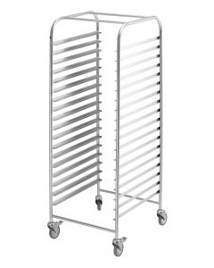 16 Mobile Trolley 400 x 600 Bakery- 460 W x 625 D x 1800 H mm