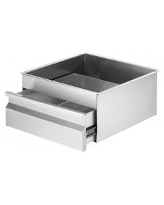 19 Stainless Steel Drawer 410 W x 450 D x 750 H mm 3 x 125mm deep drawer (34KG)