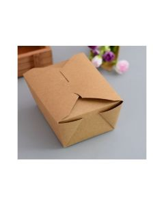 Carboard takeaway box for food