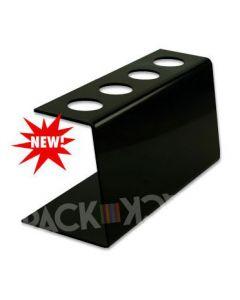 Tall Black Plastic-Ice Cream Cone Holder (4Holes)