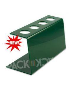 Tall Green Plastic-Ice Cream Cone Holder (4Holes)